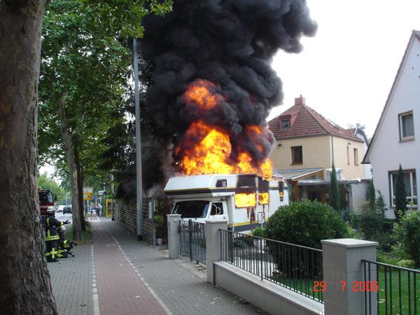 29072006 urlaubstrume ein raub der flammen - Wohnmobil Dusche Nachrusten